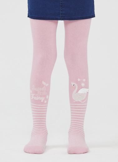 Penti Pretty Sweet Swan Külotlu Çorap Pembe